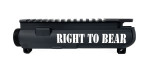 Engraved M4 Stripped Upper Receiver - Right To Bear ^