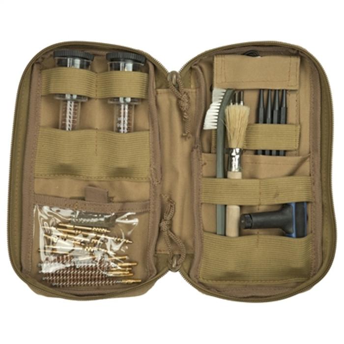 Birchwood Casey Rifle And Handgun Range Cleaning Kit - Zippered Soft-Sided Case