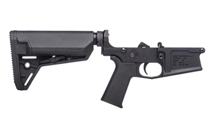 Aero Precision M5 (.308) Complete Lower Receiver w/ MOE SL Grip & SL-S Carbine Stock
