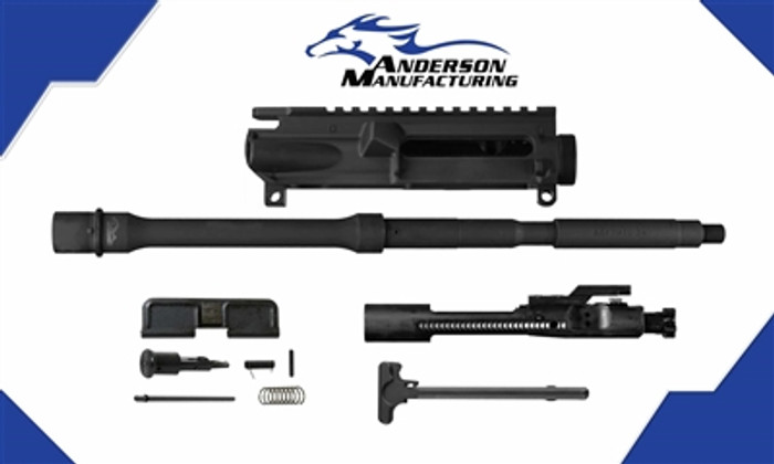 """Anderson M4 16"""" Stripped Upper Receiver Kit Including BCG, 5.56 NATO / .223 Rem"""