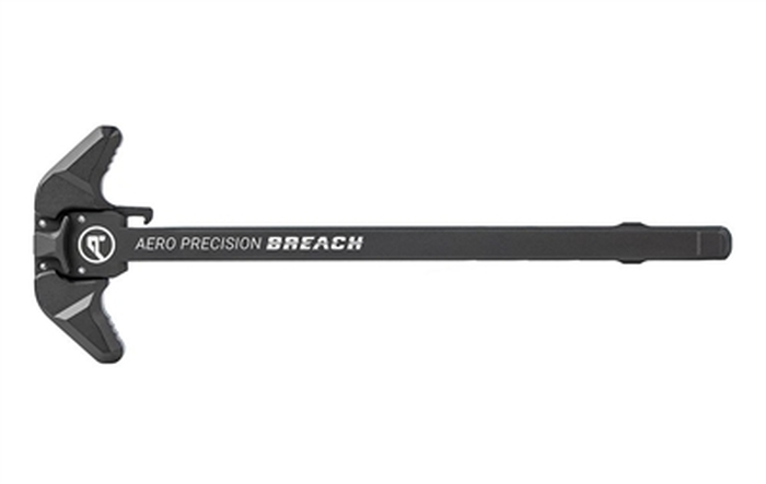 Aero Precision AR10 BREACH Ambi Charging Handle w/ Large Lever - Black