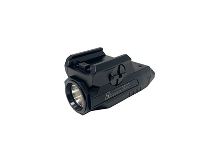 Shooters Gate HML1 Rechargeable Pistol Tactical Flashlight - Black