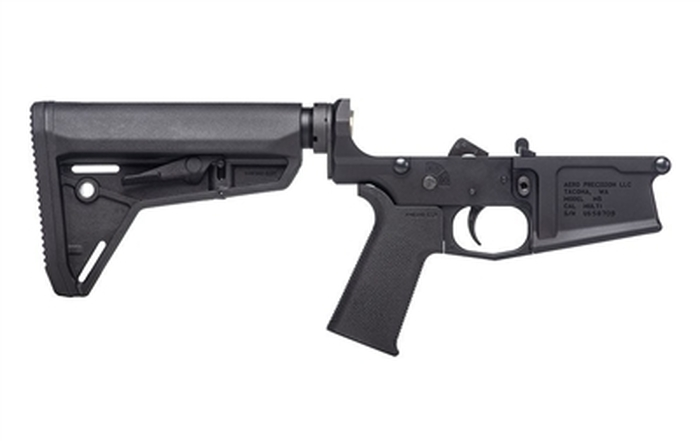 Aero Precision M5 (.308) Complete Lower Receiver w/ MOE SL Grip & SL Carbine Stock
