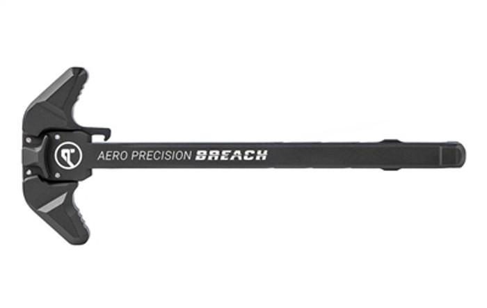 Aero Precision AR15 BREACH Ambi Charging Handle w/ Large Lever - Black