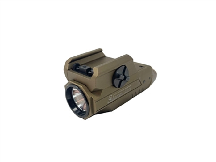 Shooters Gate HML1 Rechargeable Pistol Tactical Flashlight - Desert Tan