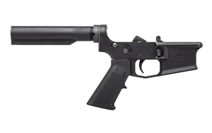 Aero Precision AR15 M4E1 Carbine Complete Lower Receiver w/ A2 Grip, No Stock
