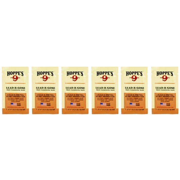 Hoppe's Lead Be Gone Wipes - 6 Ct