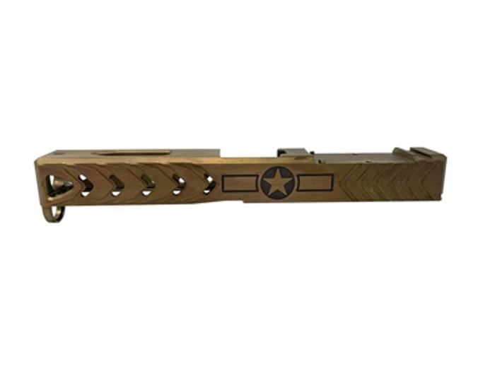 Patriot Ordnance P17 G4 Slide Bronze - Fits Glock 17 Gen 4 (Blem)