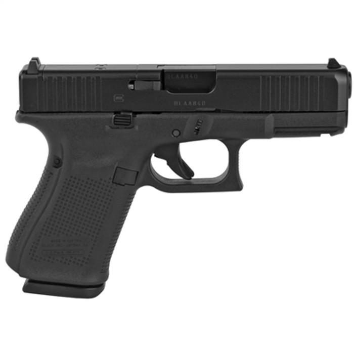 Side - Glock 19 GEN 5 - (3) 15 Round Magazines - MOS Cut