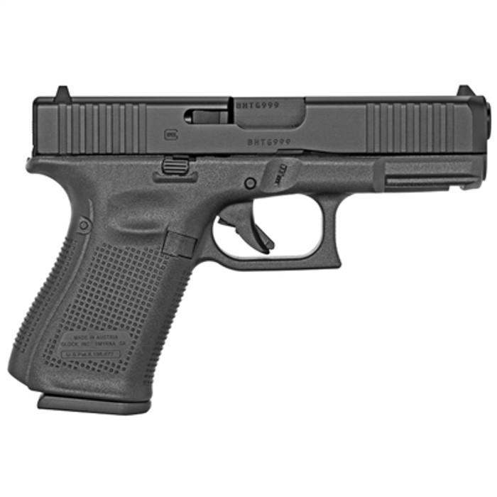 Side -Glock 19 GEN 5 9mm - (3) 15 Round Magazines
