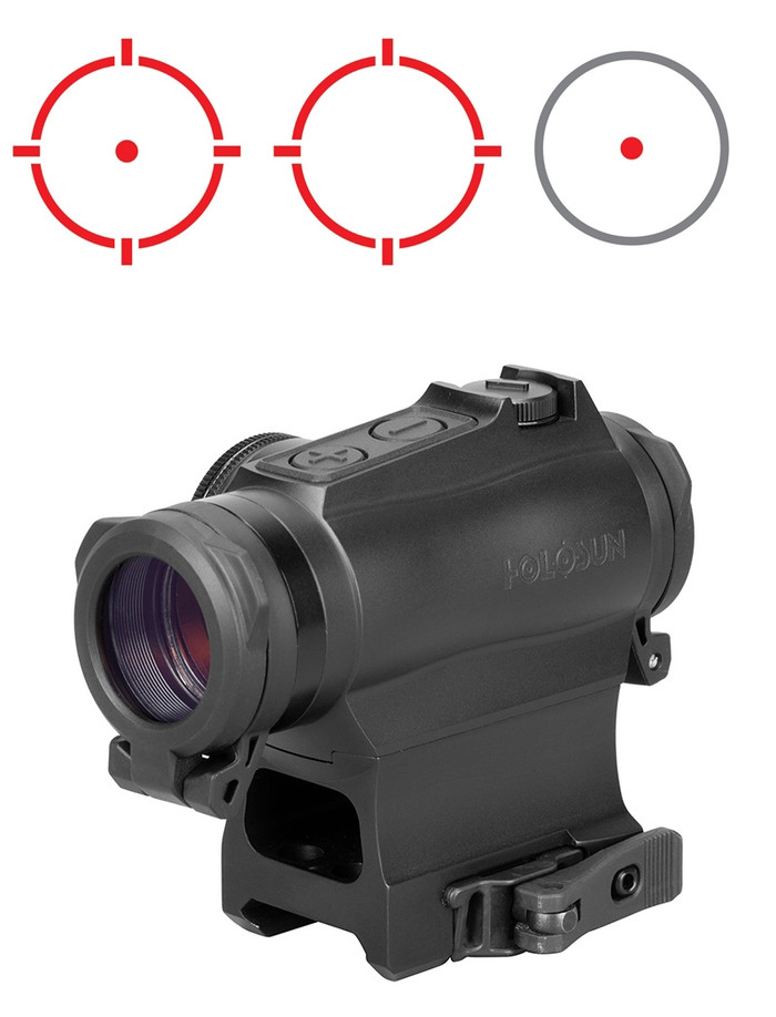 Holosun HS515GM Red Dot - 1/3 Co-Witness - 2MOA