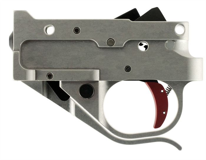 Timney 2.75 Lbs 10/22 Trigger Silver Housing / Red Trigger - Fits Ruger 10/22