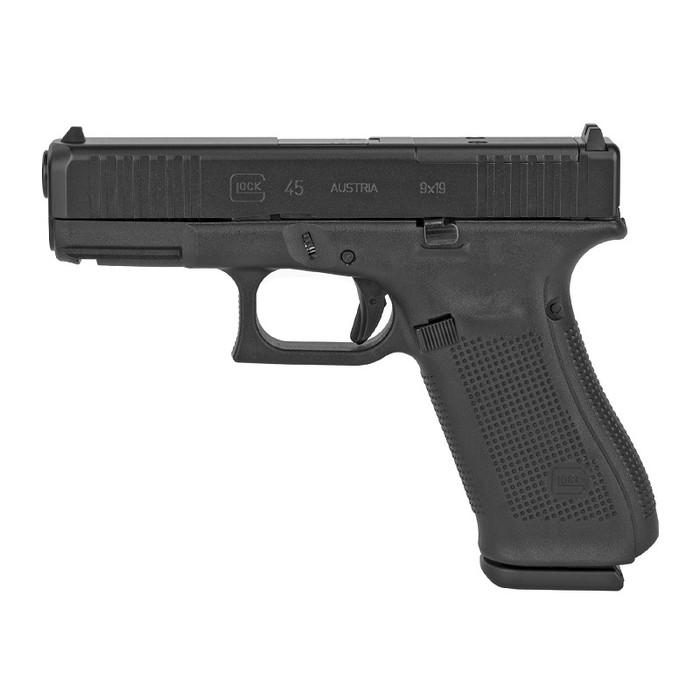 Glock 45 GEN5 9MM - (3) 17 Round Magazines - MOS Cut