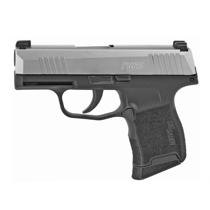 Sig Sauer P365 Stainless 9MM - (2) 10RD Magazines