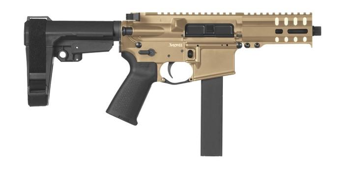 CMMG Pistol Banshee 300 MK9 Colt Pattern 9mm - Delayed Blowback - FDE