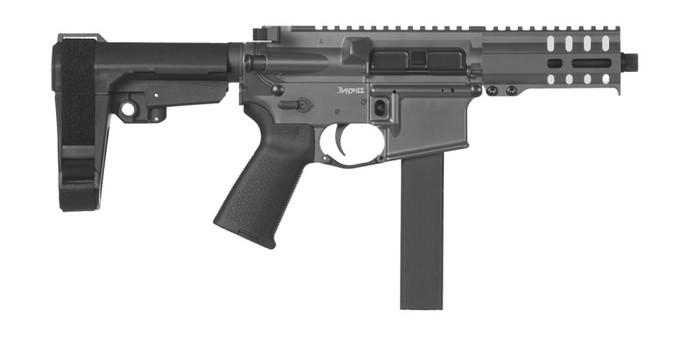 CMMG Pistol Banshee 300 MK9 Colt Pattern 9mm - Delayed Blowback - Sniper Grey