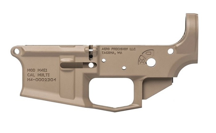 Aero Precision M4E1 Stripped Lower Receiver - FDE