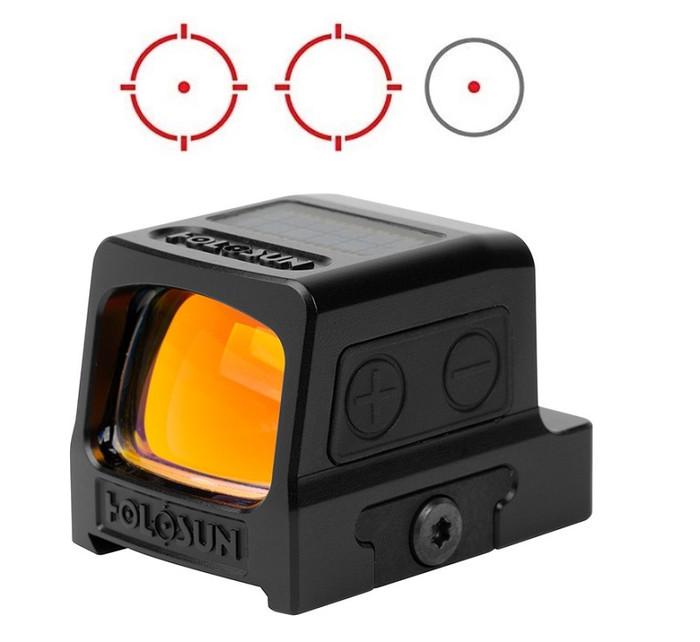 Holosun HE509T-RD Circle Dot Multi-Reticle Red Dot Enclosed Pistol Sight