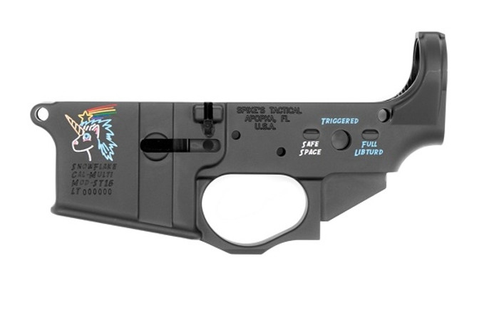 Spike's Tactical Stripped Lower (Multi) Forged - Snowflake
