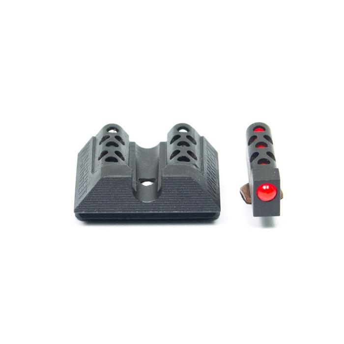Wahrheit 450 BLK AnoTized Black - Red Fiber