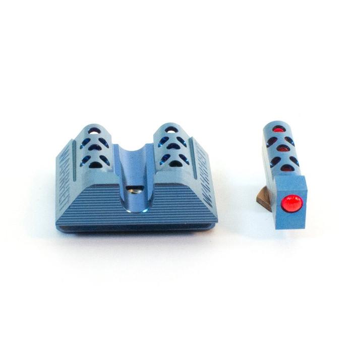 Wahrheit 450 BLK Cobalt Blue - Red Fiber