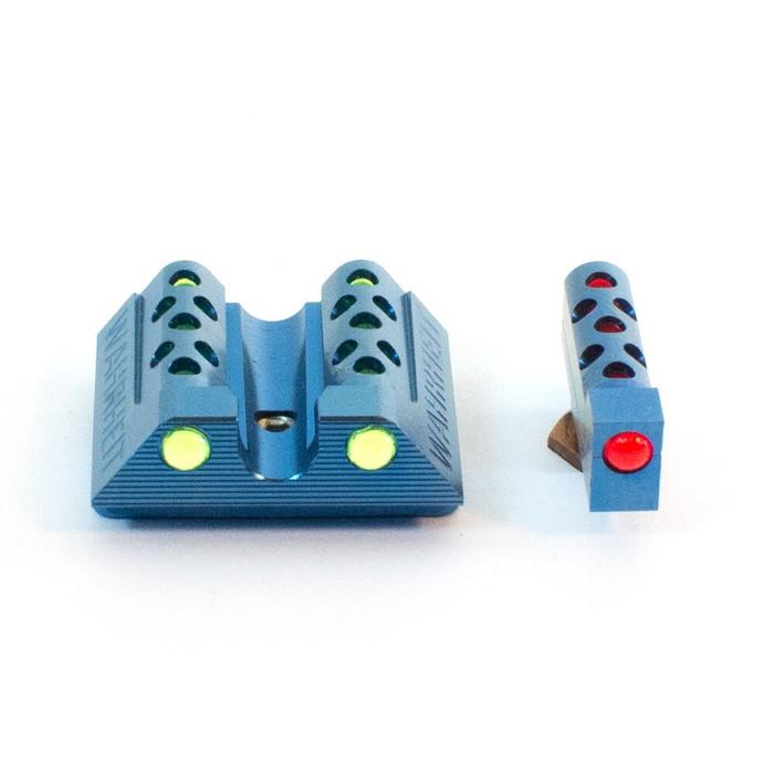 Wahrheit 450 PRO Cobalt Blue Titanium - Green / Red Fiber