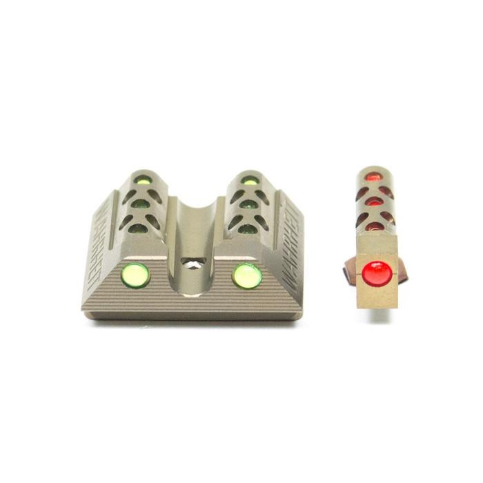 Wahrheit 450 PRO Gold Titanium - Green / Red Fiber