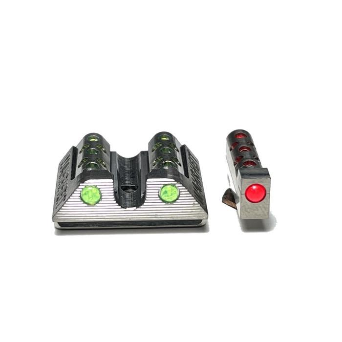 Wahrheit 450 PRO Titanium - Green / Red Fiber