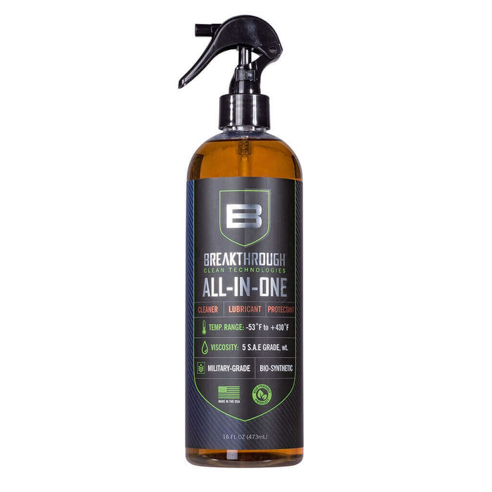Breakthrough All-in-One (CLP) - Cleaner, Lubricant and Protectant Spray - 16oz