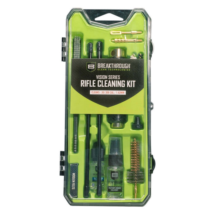 Breakthrough Vision Series Hard-Case Rifle Cleaning Kit - AR10 / .30 Cal