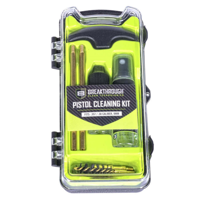 Breakthrough Vision Series Pistol Cleaning Kit - .357 Cal / .38 Cal / and 9mm