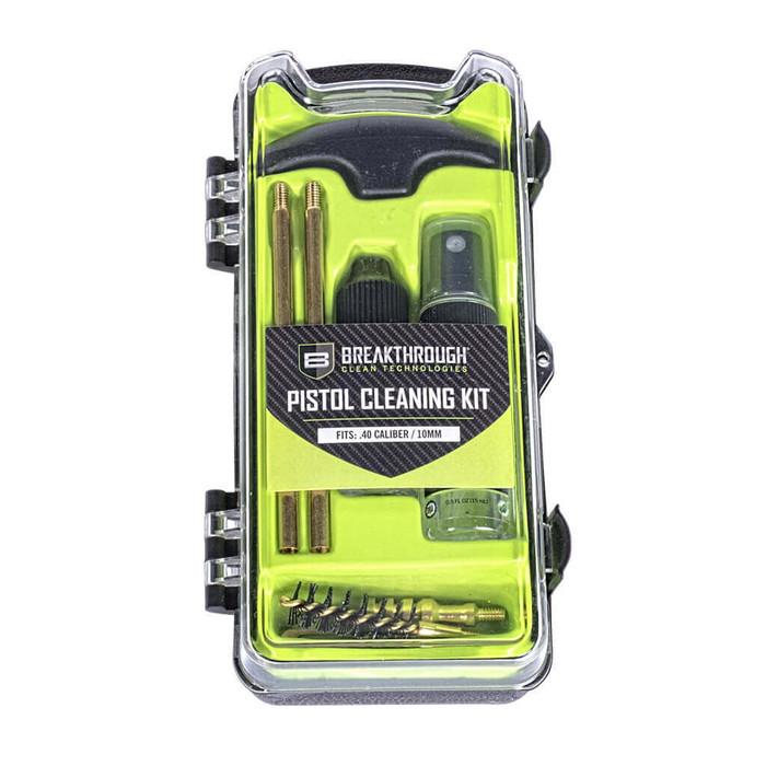 Breakthrough Vision Series Pistol Cleaning Kit - .40 Cal/10mm
