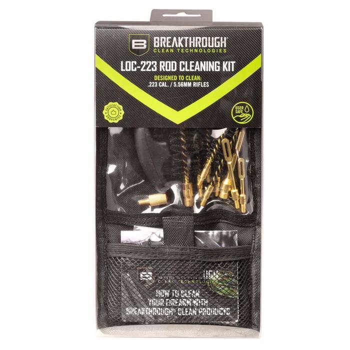 Breakthrough LOC-223 Rod Cleaning Kit (Black)
