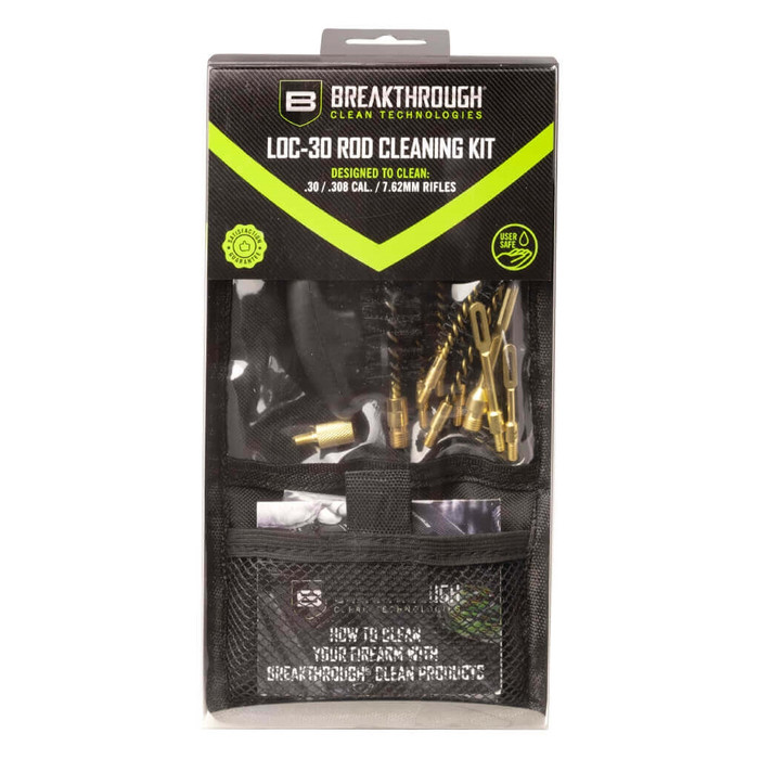 Breakthrough LOC-30 Rod Cleaning Kit (Black)
