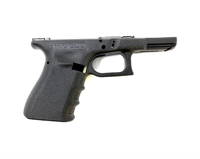 Glock 19/23/32 Gen 3 RTF2 Stripped Pistol Frame - Black