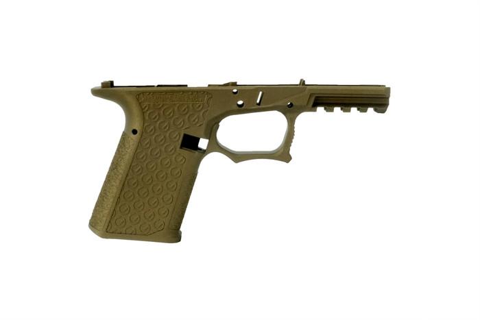 Grid Defense Glock 19/23/32 100% Pistol Frame - Gen 3 Burnt Bronze - Locking Block Included (FFL REQ.)