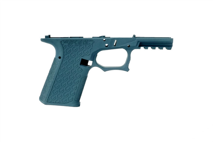 Grid Defense Glock 19/23/32 100% Pistol Frame - Gen 3 Blue Titanium - Locking Block Included (FFL REQ.)