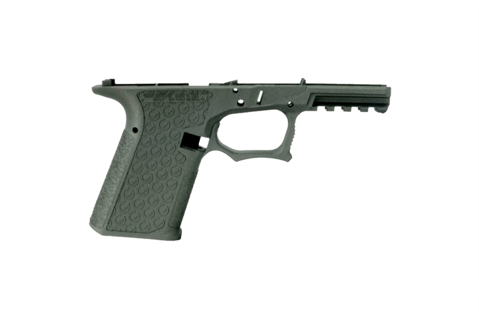 Grid Defense Glock 19/23/32 100% Pistol Frame - Gen 3 Tungsten Gray - Locking Block Included (FFL REQ.)