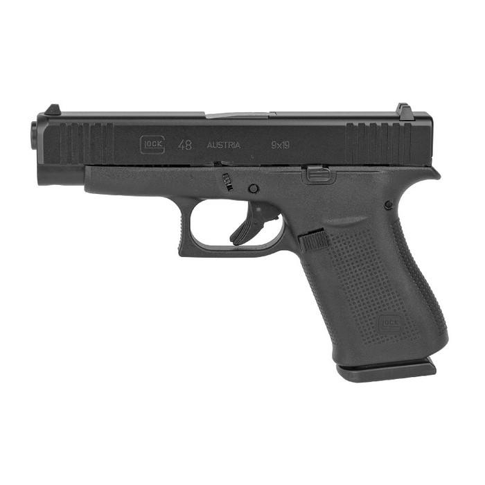 "Glock 48 Compact 9mm 4.17"" - (2) 10 Round Magazines"