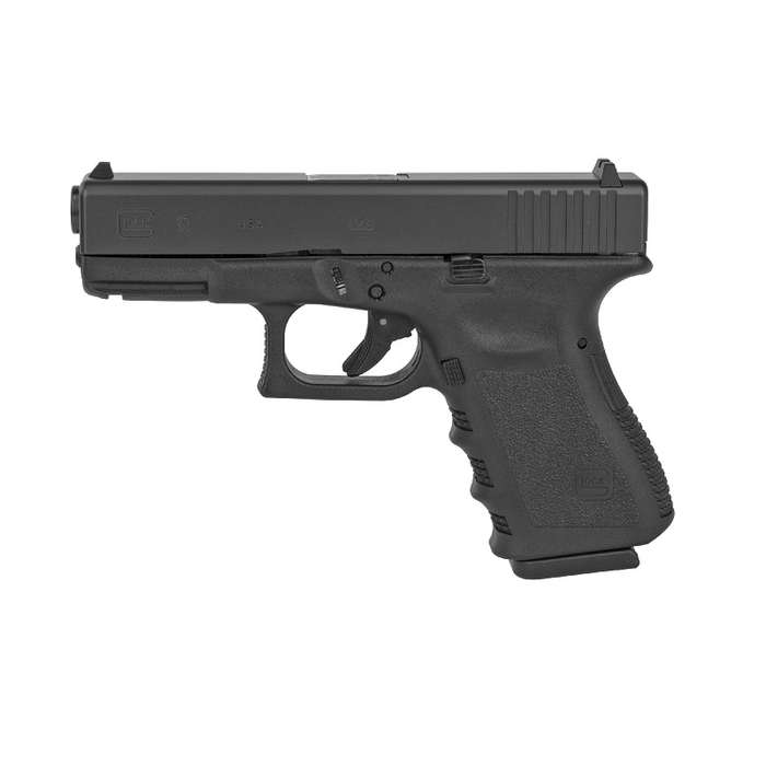 Glock 19 GEN 3 9mm USA - (2) 15 Round Magazines