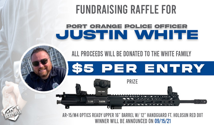 Officer Justin White - Family Relief Raffle