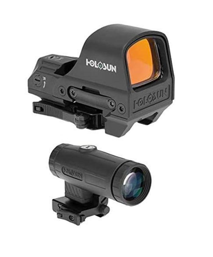Holosun HS510C Reflex Green Dot Sight w/ HM3X 3X Magnifier