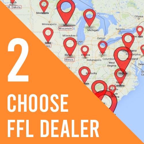 Step 2, Choose FFL Dealer
