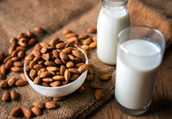 Why do almond milk and other plant-based beverages contain additives?