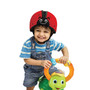 Soft Protective Headgear - Ladybird Red