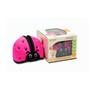 Soft Protective Headgear - Ladybird Pink