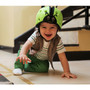 Soft Protective Headgear - Ladybird Green