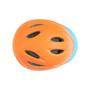 XS Toddler Bike Helmet - ORANGE blue