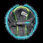 Soft Protective Headgear - Owl Blue Green