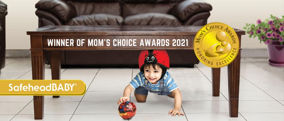 SafeheadBABY wins Gold at the 2021 Mom's Choice Awards